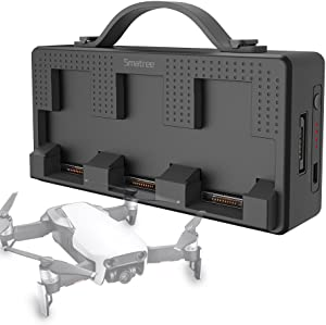 Smatree Portable Charging Station Compatiable for DJI Mavic Air Battery, 158Wh Rechargeable Power Bank Batteries Charger(Charge 3 Mavic Air Batteries Simultaneous and up to 5-8 Mavic Air Batteries