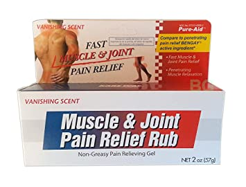 Muscle & Joint Pain Relief Rub (6-pack) 2oz