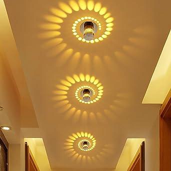 Korridor Deckenstrahler LED Ganglichter Oberfläche Montiert Effekt Licht  Creative Deckenleuchte Wandleuchten für Badezimmer Restaurant Wohnzimmer ...