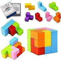 TOPsic Blocs de Construction magnétiques Jouets, magnétique, Cubes Qui Peut être assemblé, Les Blocs de Construction, coloré, diverses Formes, sûr et respectueux de l'environnement, Educational