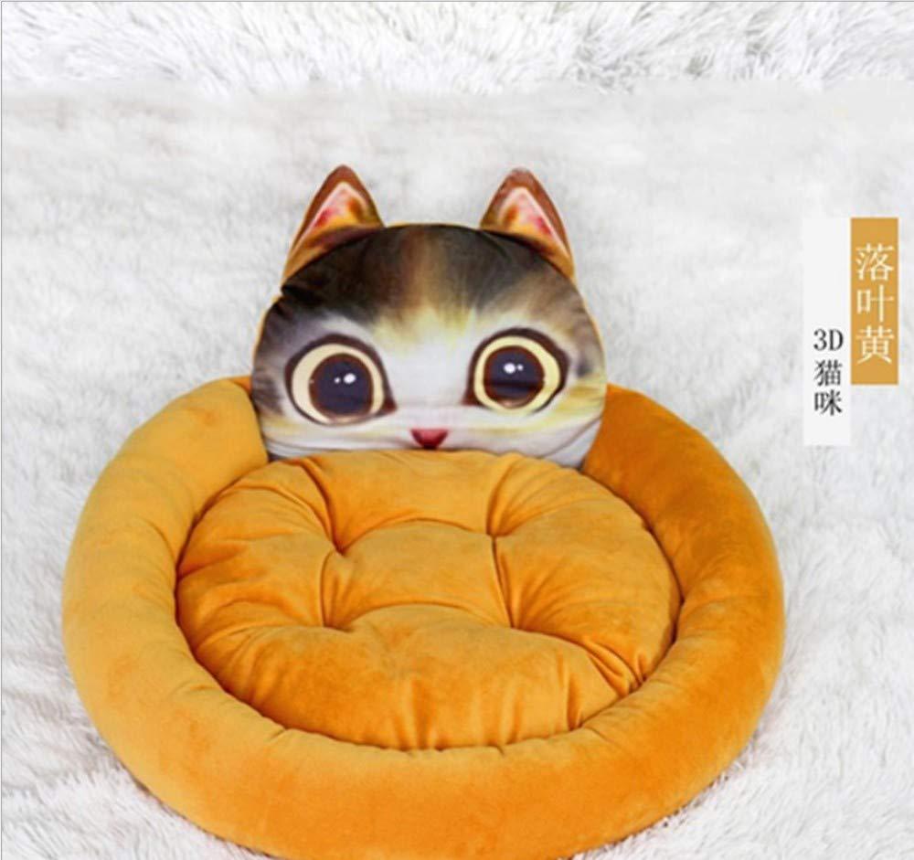 GZDXHN Four Seasons Universal Dog House Piccolo e Medio Cane Nido di Gatto Cuscino per Cani Rimovibile e Lavabile Nido per Animali E