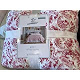 Simply Shabby Chic Country Floral Paisley Quilt Size Full/Queen - Pink - Quilt Only