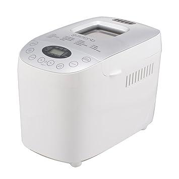 Guzzanti GZ 635 Máquina para Hacer Pan Completamente Automática, 900 W, 1.6 kg, Color Blanco: Amazon.es: Hogar