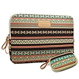 kayond®new Bohemian Style Canvas Fabric 10-15 Inch laptop / Notebook Computer / MacBook / Macbook Air/MacBook Pro Sleeve Case Bag Cover