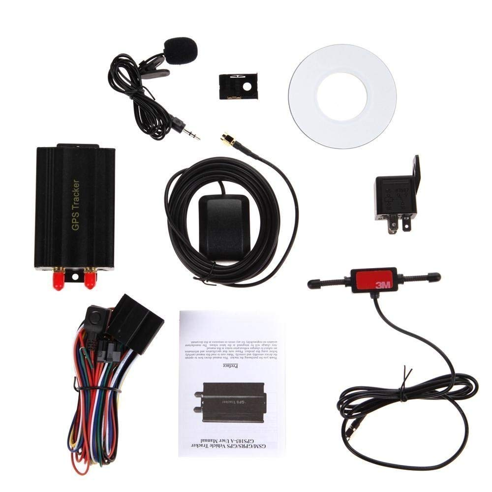 Buy Minkoo Gps Tracker Tk103a Control Pc Version Software Google The Circuit For Is Shown In Image Below Click On Maps Link Real Time Tracking App Scanner Car With Gprs And Vehicle Theft Protection