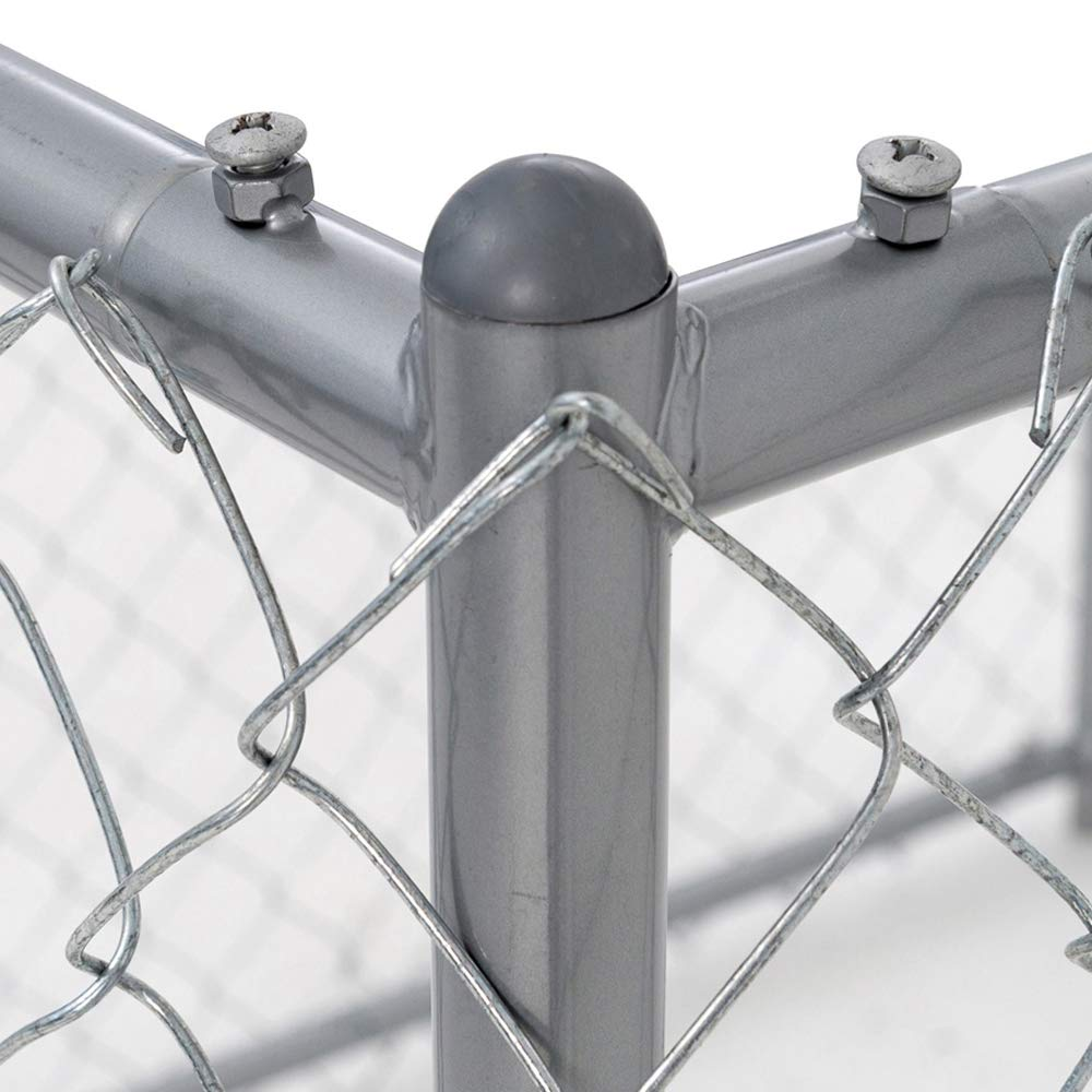 Lucky Dog Galvanized Chain Link Kennel (10' x 5' x '4) by Lucky Dog (Image #4)