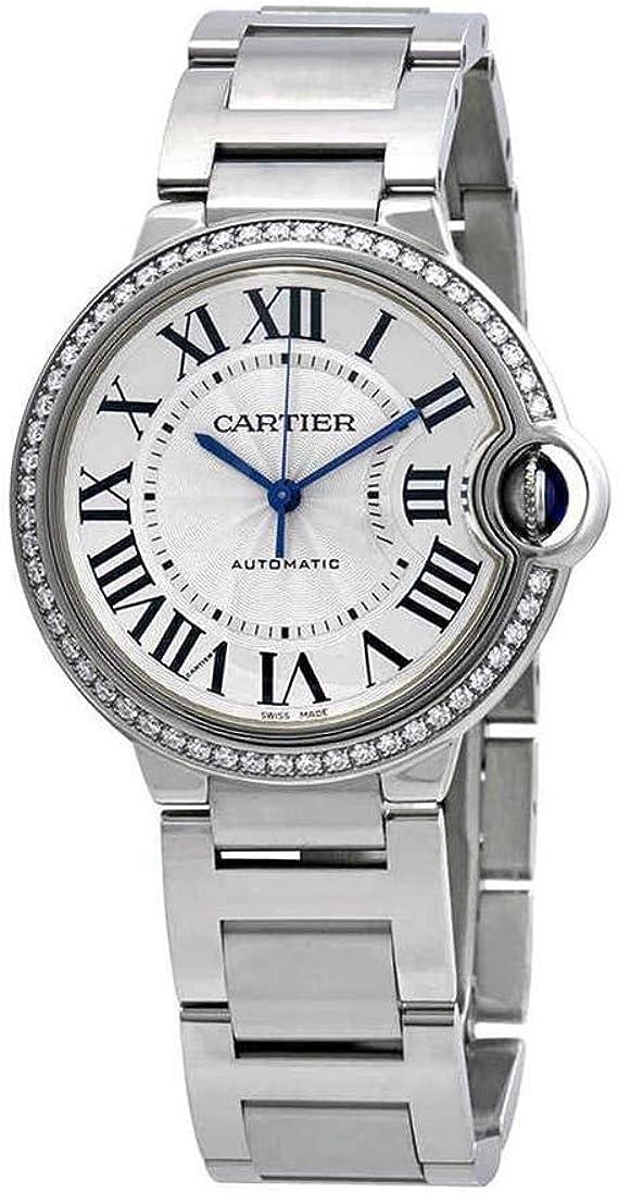 Cartier Ballon Bleu orologio da donna automatico diamante