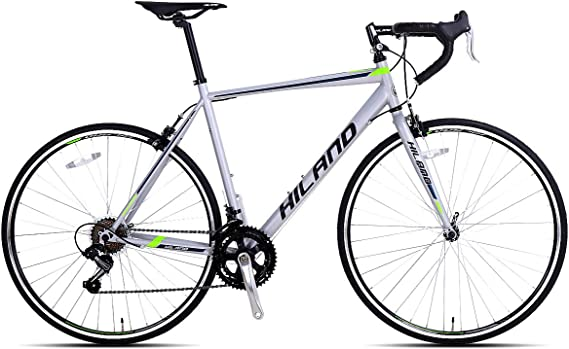 Hiland 700c Road Bike City Commuter Bicycle with 14 Speeds Drivetrain