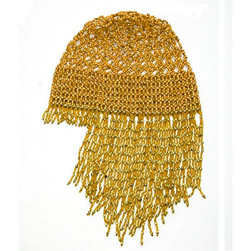 [Belly Dance Accessories Dancing Elastic Tassel Hanging Shall Hat Costume] (Dance Fans Costumes Accessories)