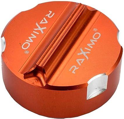 Cnc Alu Deckel Bremsflüssigkeitsbehälter Hinten Passend Für Ktm Duke 790 Auto