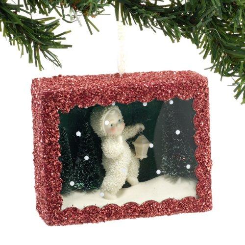 Department 56 Snowbabies Star-Lit Stroll Box Hanging Ornament, 3.5 ()