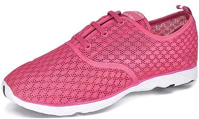 Men Women Quick Drying Aqua Water Shoes Athletic Sport Lightweight Slip On Walking Shoes Beach