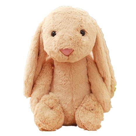 Amazon Com Lemongo Cute Bunny Plush Toy Fluffy Ears Rabbit Stuffed