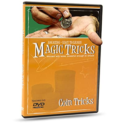 Magic Makers Magic Tricks You Can Master: Coin Tricks - Instructional Magic Training: Toys & Games