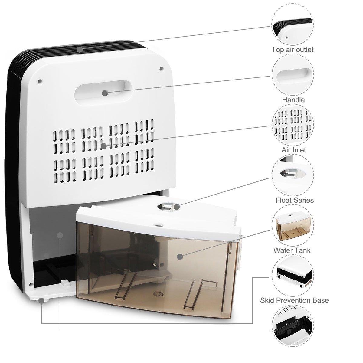 Mini Luftentfeuchter Raumentfeuchter Luftentfeuchtungsgeräte - Luftentfeuchter schlafzimmer