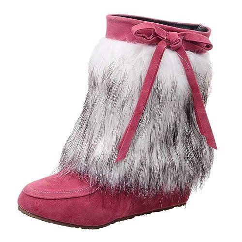 separation shoes a5164 9b04b Chenang Stivali Pioggia Donna Stivali Donna Invernali ...