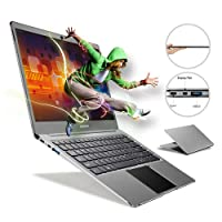 Bben Notebook Ultrabook Laptop Windows 10 Home 35,56 cm 14,1 Zoll Intel Celeron N3450, 4GB Ram 64 GB eMMC Supports M.2 SSD Upgrade(Up to 512 GB), Intel HD Graphics, Type C, Webcam, Bluetooth, USB 3.0, Eisengrau
