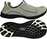NORTY - Mens Breathable Mesh Slip-On Water Shoe, Grey 39691-8D(M) US