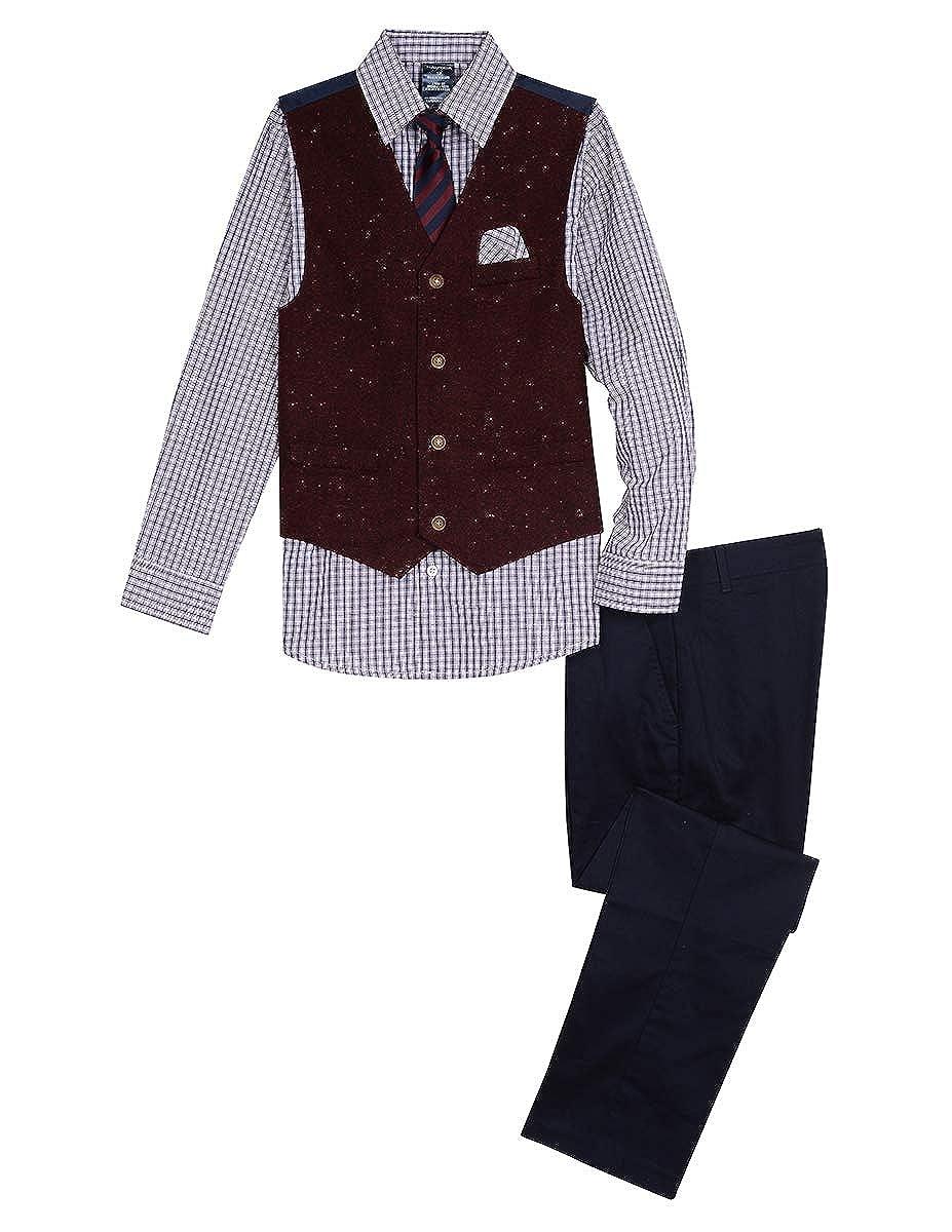 Nautica 4-Piece Formal Dresswear Vest Boy's Set Nautica Dresswear Children' s Apparel