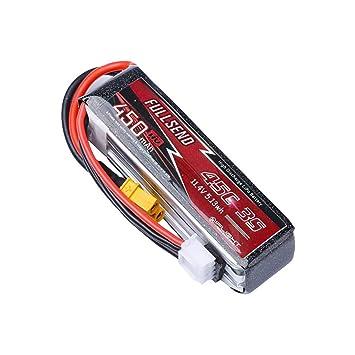 Ktyssp iFlight FULLSEND 3S 450mAh HV 45C Lipo Batería - XT30Plug ...
