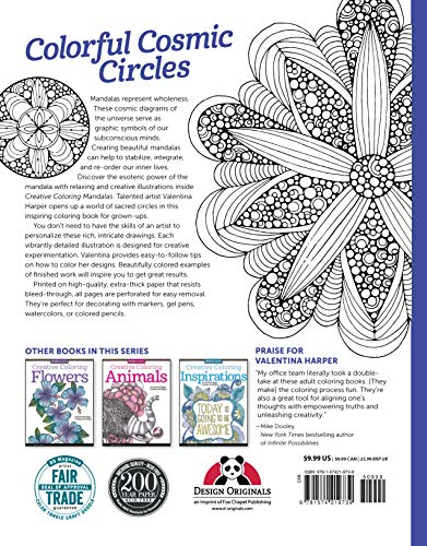 Creative Coloring Mandalas: Art Activity Pages to Relax and ...