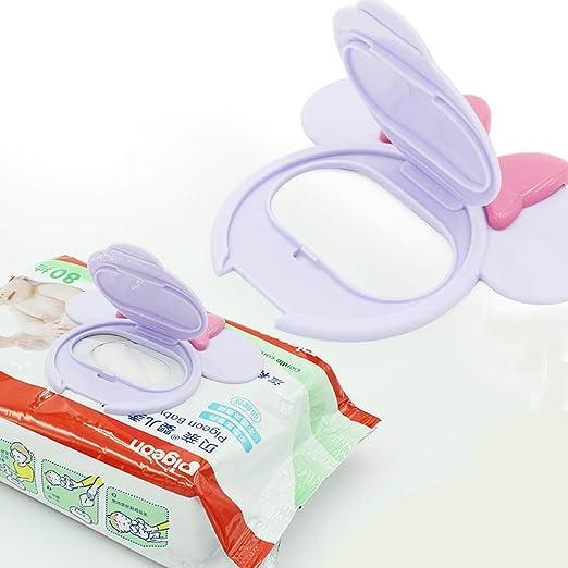 Caja de papel mojado del bebé reutilizable con la tapa para el uso del bebé (al azar) 1PCS: Amazon.es: Bebé