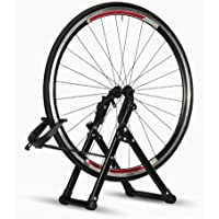 "Ownsig Soporte para Alineación de Ruedas para Bicicletas Caballete de Ruedas Reparador de Neumáticos Pie de Centrado Ajuste de Mecánicos para el Hogar Plegable se Adapta a Ruedas de 16""- 29"" 700C"