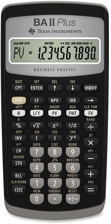 Best texas ba ii plus financial calculator 2020