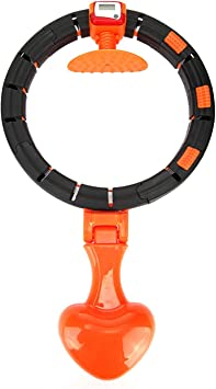 Smart Hula Hoop Auto Counting Lose Weight Exercise Detachable Portable Hula 360d