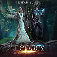 Legacy: The Biodome Chronicles Series, Book 1 Audiobook by Jesikah Sundin Narrated by Sunil Patel