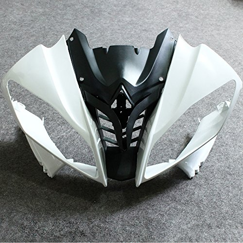 ZXMOTO Unpainted Front Upper Nose Fairing for Yamaha YZF R6 (2008-2009) Individual Motorcycle Fairing