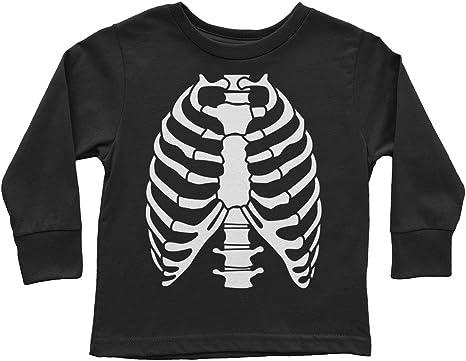 Skeleton Halloween  Toddler Long Sleeve T-shirt