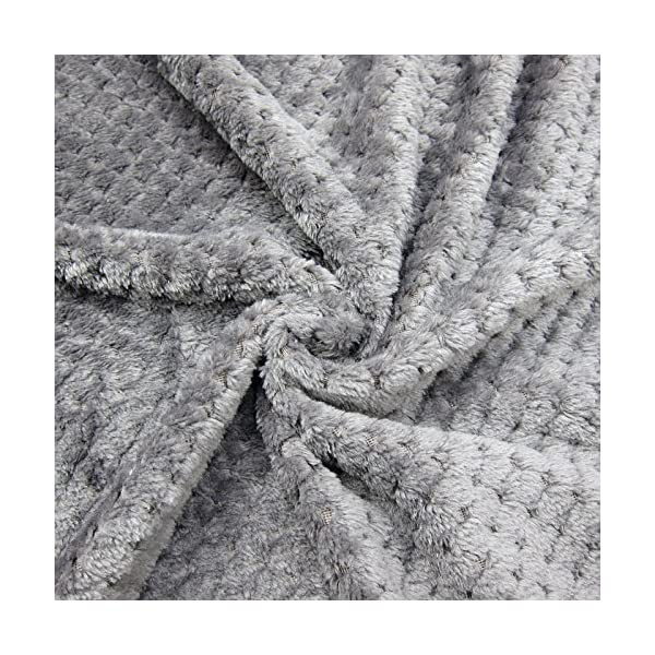 Alfie Pet – Mackenzie Fleece Blanket for Dogs and Cats – Color: Grey Click on image for further info. 6
