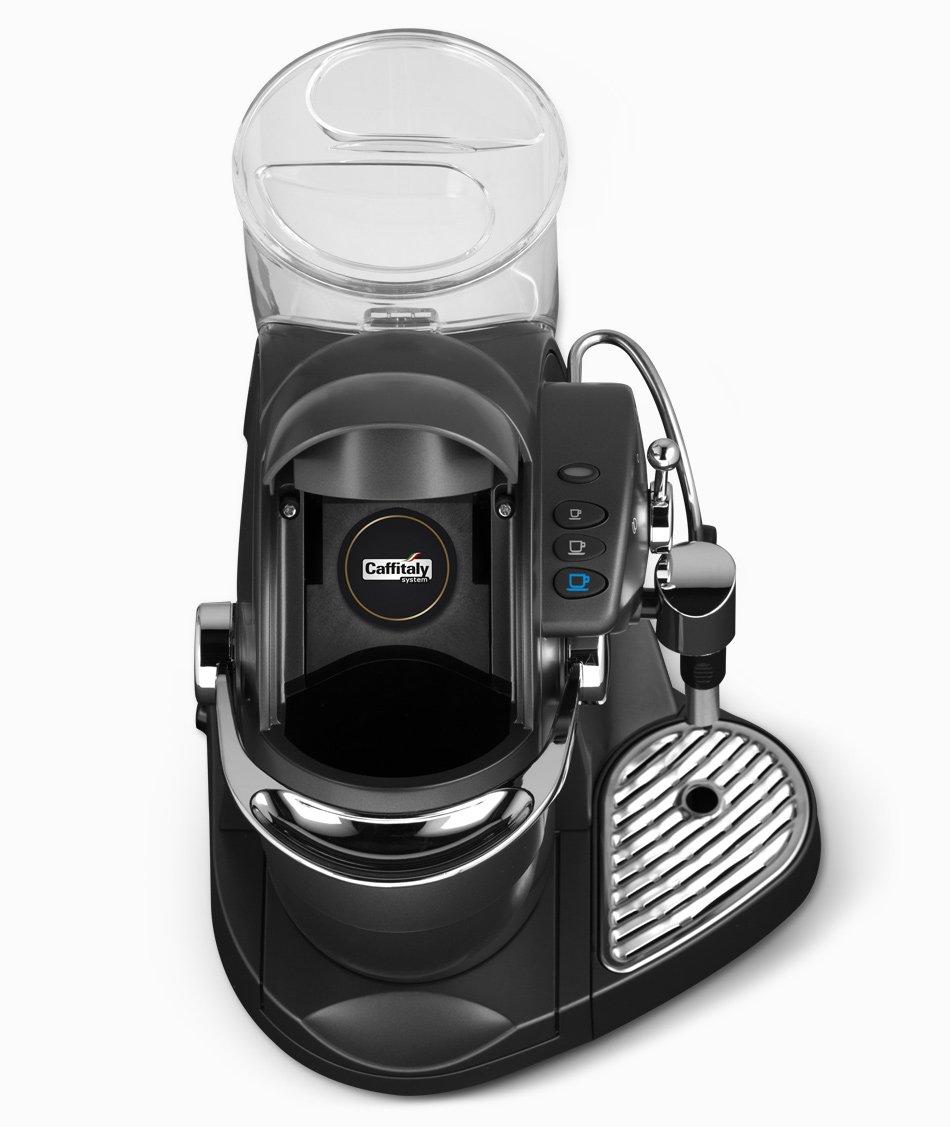 Caffitaly Nautilus S06HS Carbon Independiente Semi-automática Máquina de café en cápsulas 1.2L Negro - Cafetera (Independiente, Máquina de café en cápsulas, ...