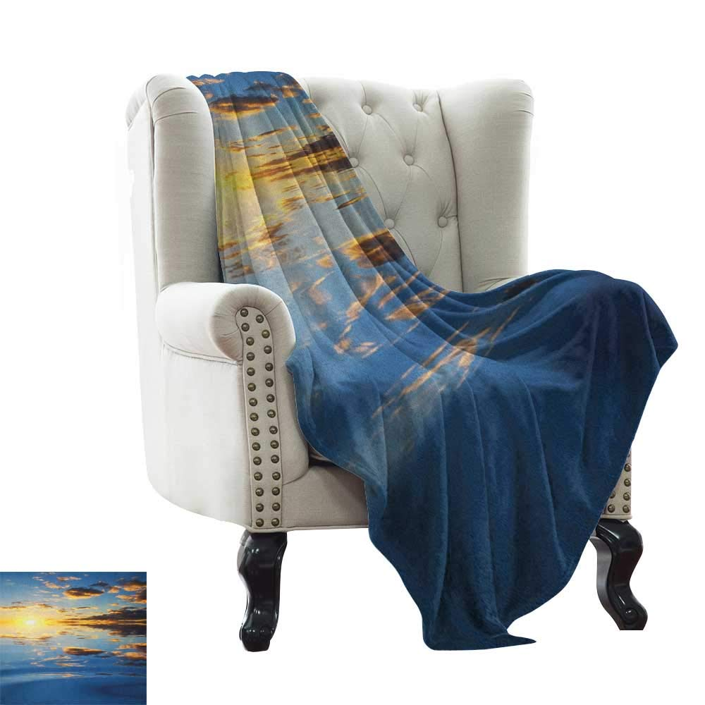 color13 60 x62  Inch BelleAckerman Bed Blanket Music,Young Lady Listening to Music Earphones Smiling Close Eyed Girl Enjoy Melody Theme, Black White Microfiber All Season Blanket for Bed or Couch Multicolor 50 x60
