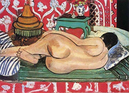Henri Matisse - Reclining Nude Back, Size 18x24 inch, Poster art print wall décor