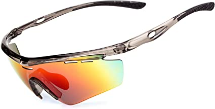 MEETLOCKS Polarized Cycling Sunglasses Goggles Eyewear Sport Glasses 2 Lens