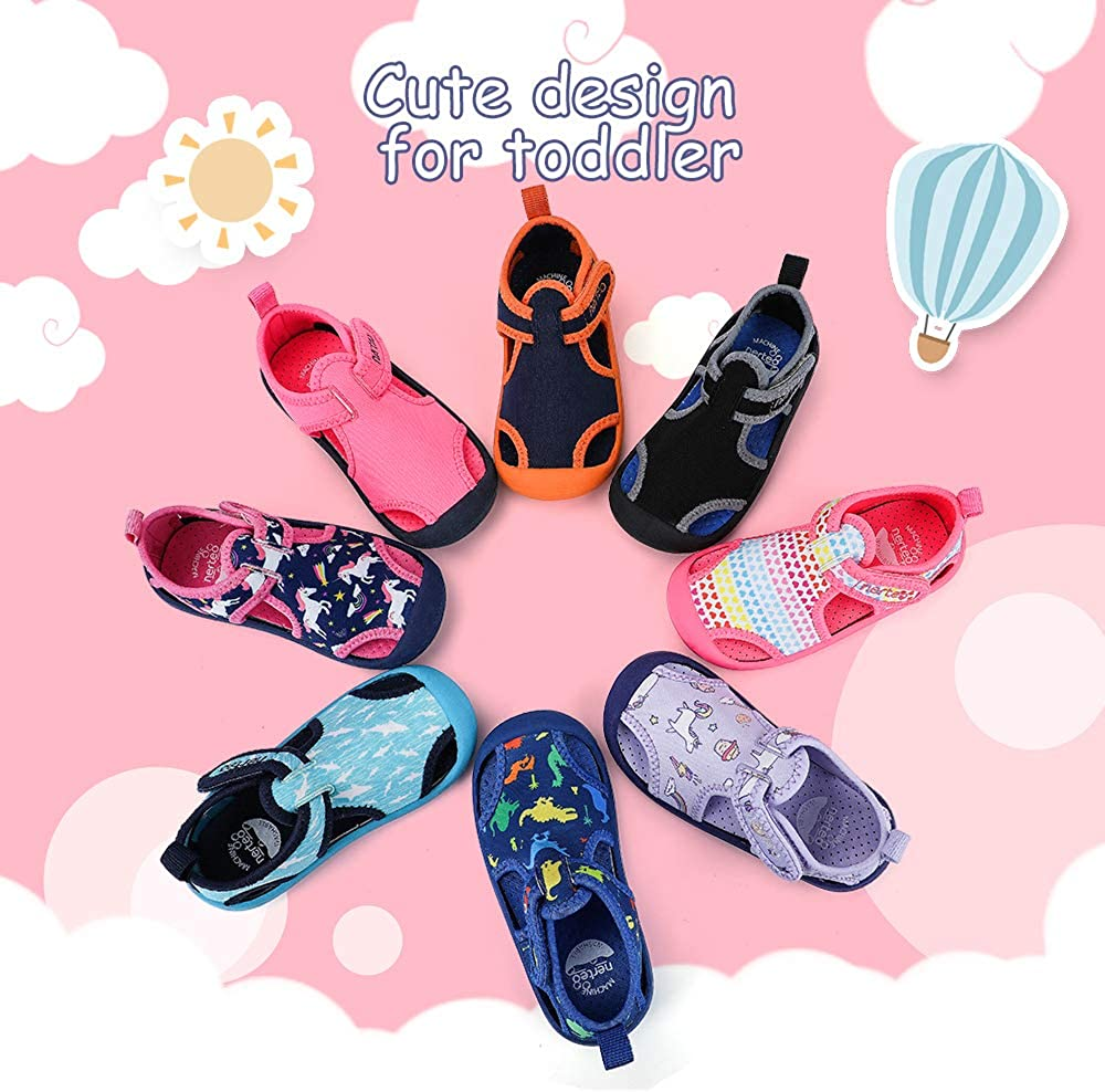 RANLY /& SMILY nerteo Kids from Pool to Play Sandals Toddler Water Shoes