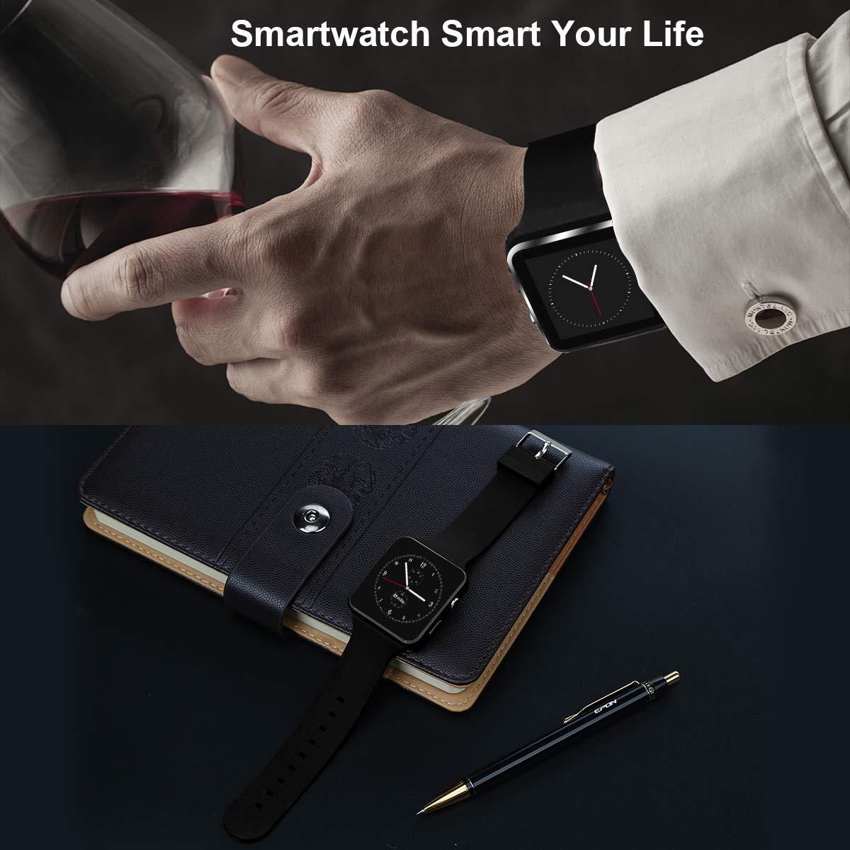 Reloj inteligente Bluetooth con pantalla táctil para cámara ...