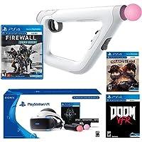 PlayStation VR FPS Deluxe Bundle (5 Items): PlayStation VR Skyrim Bundle, PSVR Doom VFR Game, PSVR Bravo Team Game, PSVR Farpoint Game and PSVR Aim Controller(Versión EE.UU., importado)