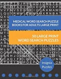 img - for Medical Word Search Puzzle Books For Adults Large Print: One Puzzle Per Page book / textbook / text book