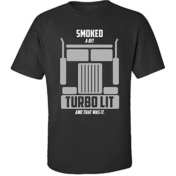 Great Gift For Any Trucker Truck Driver Turbo Lover Fan - Adult Shirt S Black