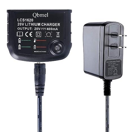 Amazon.com: Qbmel - Cargador de batería de iones de litio de ...