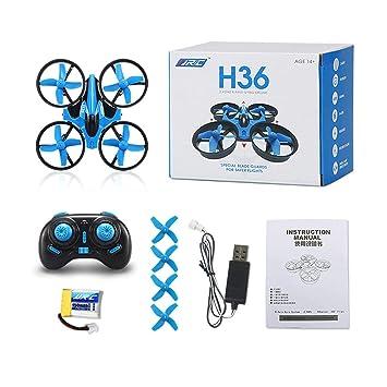 ZW179602 Footprintes H36 Mini Drone RC Drone Quadcopters con Modo ...