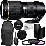 Tamron 70-200mm f/2.8 Di LD (IF) Macro AF Lens for Canon with 77mm 3 Piece Filter Kit (UV+FLD+CPL), MORE - International Version (No Warranty)