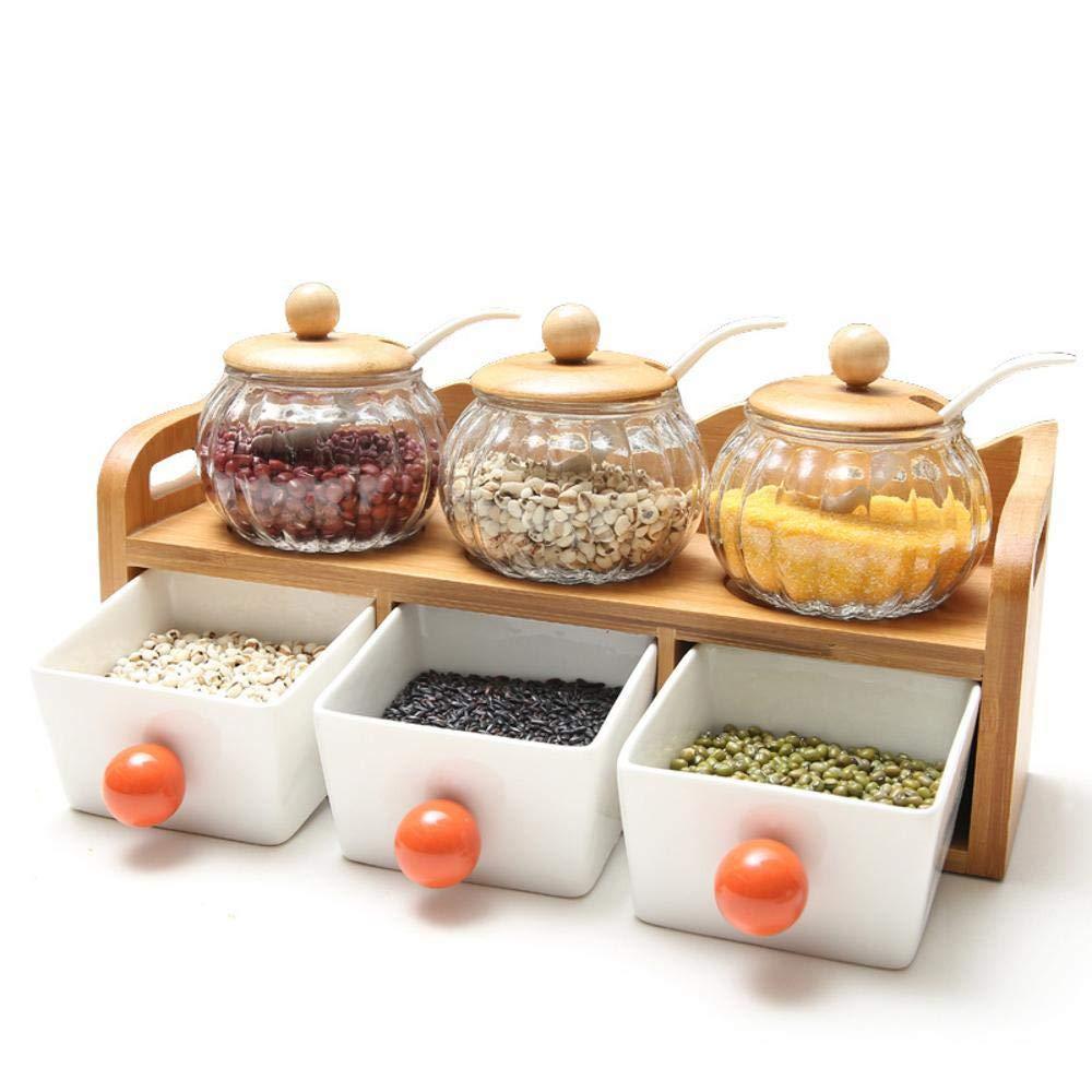 Yunfeng Botes para Especias, Cocina vitrocerámica condimento ...