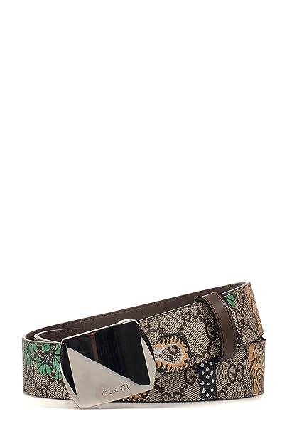 prezzo di fabbrica sconto di vendita caldo nuovo design Gucci Cintura Uomo 424674K6DCN8651 Pvc Marrone: Amazon.it ...