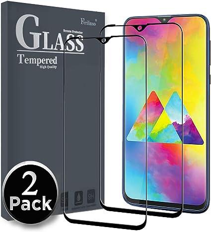 Ferilinso Cristal Templado para Samsung Galaxy M20, [2 Pack] [Cubierta Completa] Protector de Pantalla Screen Protector con garantía de reemplazo de por Vida para Samsung Galaxy M20 (Negro): Amazon.es: Electrónica