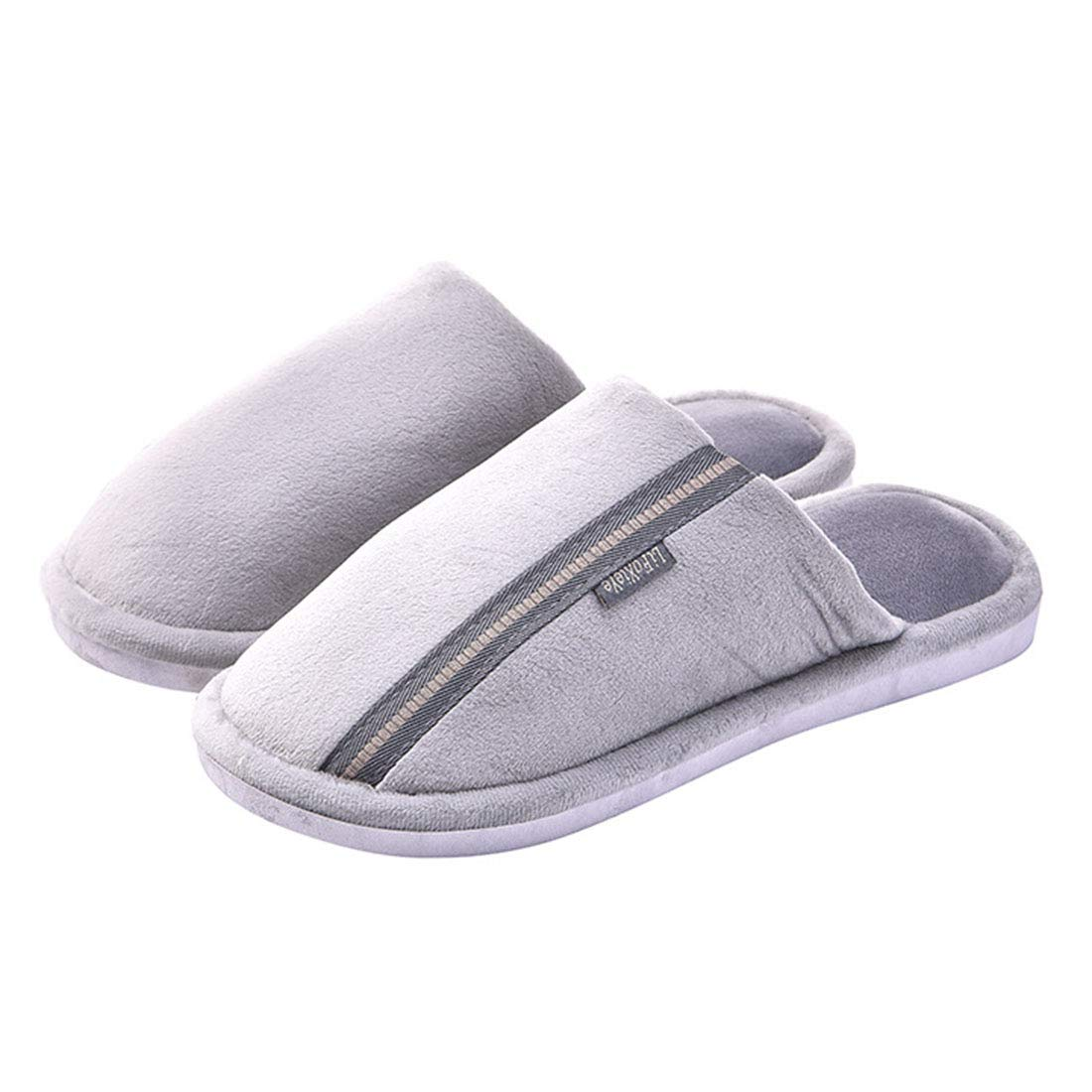 Memory Foam House Slippers Close Toe Slippers Anti-Slip Sole for Home