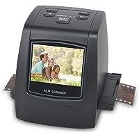"""22MP Escáner de Negativos y Diapositivas, Convertidor Digital con 2,4"""" LCD para 35 mm/Super 8/110/ 126 película"""